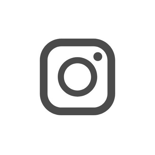 インスタグラムのシンプルなロゴのアイコン 1